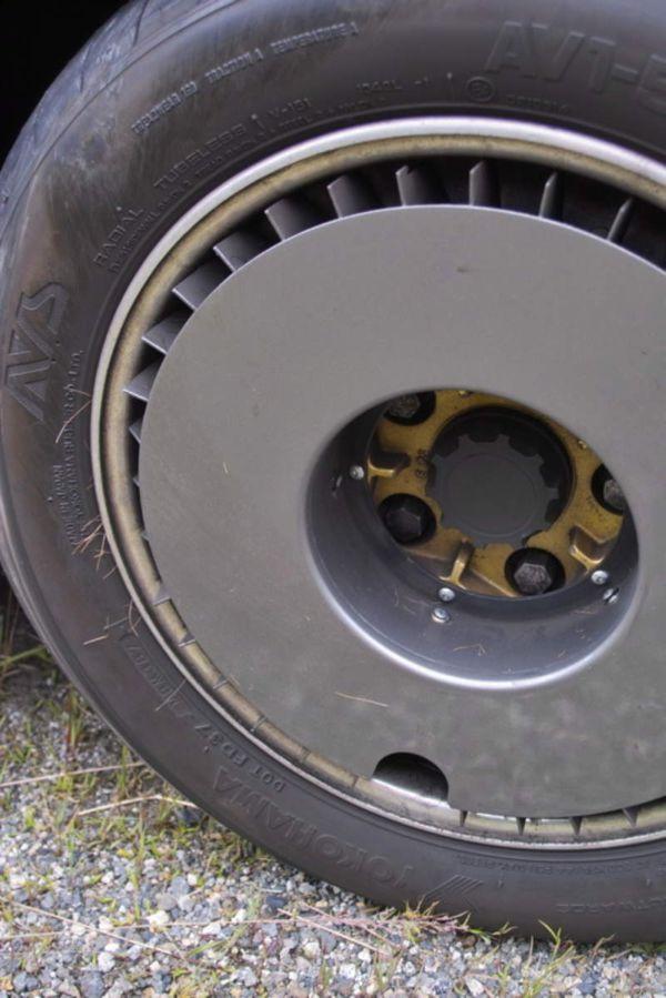 Aero Wheel Covers Car